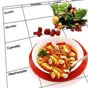 Meal plans provide clients with guidance for their weekly food intake. These plans are individualised based on the clients needs, and health goals.