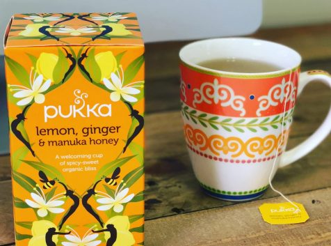 Natural, Health, Lemon, Ginger and Manuka Honey Tea